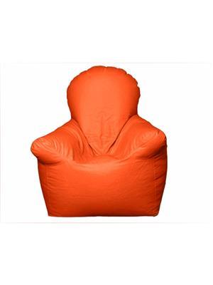 Pebbleyard XXLCARM-Orange_C Arm Chair Bean Bag Cover