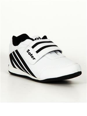 Escan Yoes410351-3 White Kids Sports Shoes