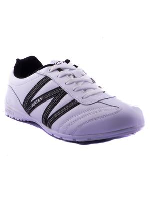 Escan Yoes670235-3 White Women Sports Shoes