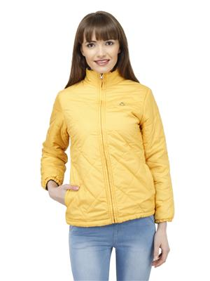 Duke Z6622 Yellow Women Reversible Jacket