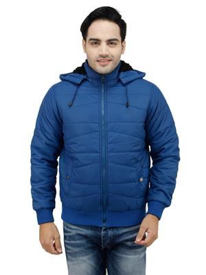 Duke Z8020 Blue Men Hooded Jacket