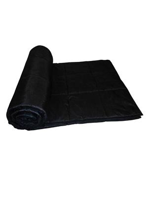 ZIKRAK EXIM ZEQLTQUEN136 Reversible Square Quilted Black Quilt 230 X 250 Cms