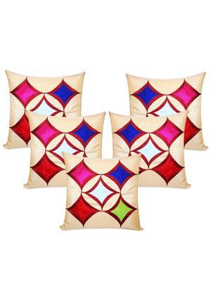 ZIKRAK EXIM ZESMLC1096 Geometrical Beige 30X30 Cms-5 Pcs Set