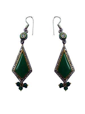 ZENITH JEWELS ZJ-32 Green  Earring