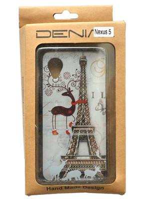 Denim D16 White  Print Nexus 5  Mobile Case Cover
