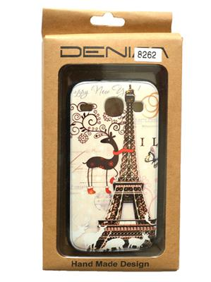 Denim D32 White  Print Galaxy   8262   Mobile Case Cover