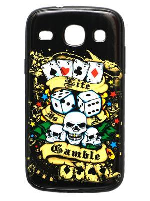 Denim D35   Black  Print Galaxy   8262   Mobile Case Cover
