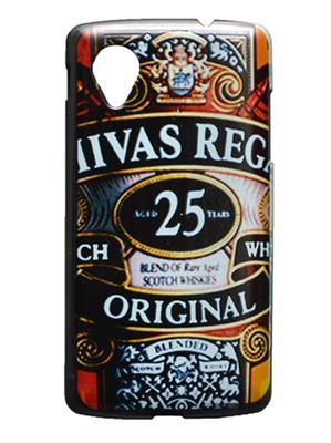 Denim D12  Brown  Print Nexus 5  Mobile Case Cover