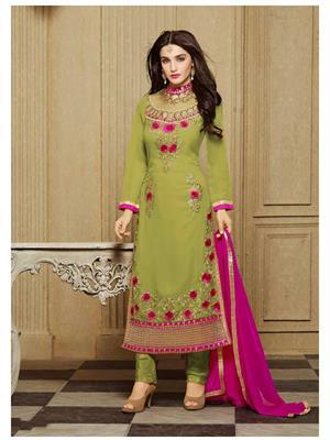 Rahi Fashion Zs-13008C Green Women Salwar Suit