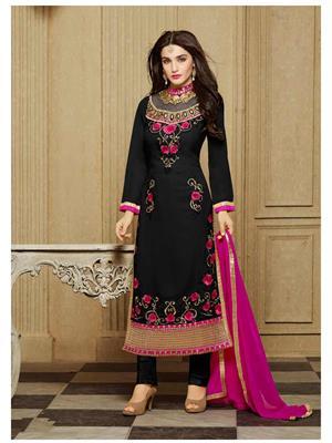 Rahi Fashion Zs-13008E Black Women Salwar Suit