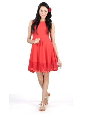 SHIVABHIS Zarred01 Red Women Dresses