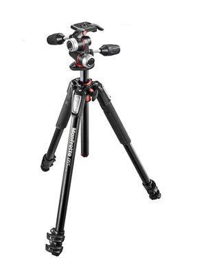 Manfrotto  MK055XPRO3  ALU 3-S KIT 3W Head