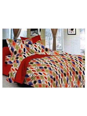 SPLASH 39756 Multicolored Double BedSheet