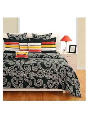 SWAYAM 1961 Multicolored Double BedSheet