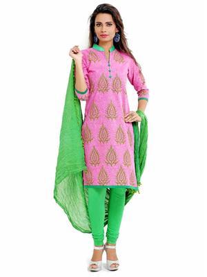Aaika 1233 Pink Women Salwar Suit
