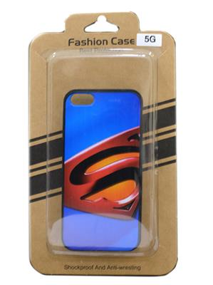 Fashion Case FC19  Blue  Print  Apple 5 G Mobile Case Cover