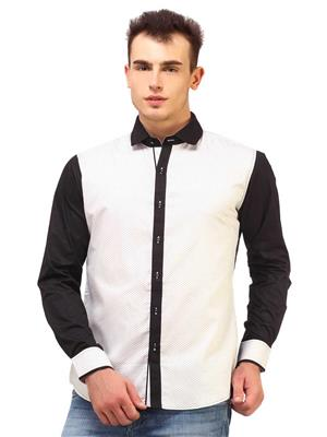 Apris S2957 White Men Casual Shirt