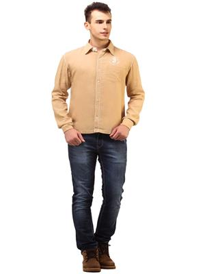 Apris S2758 Brown Men Casual Shirt