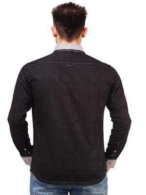 Apris S2941 Black Men Casual Shirt
