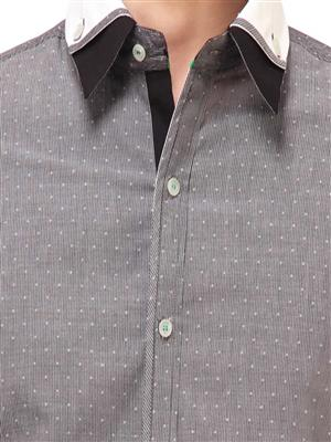 Apris S2937 Grey Men Casual Shirt