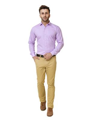 Austin-M austin-m-fs-005 Purple Men Formal Shirt