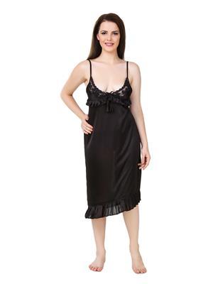 Austin-W  bk-310 Black Women Night Wear Set Of 2