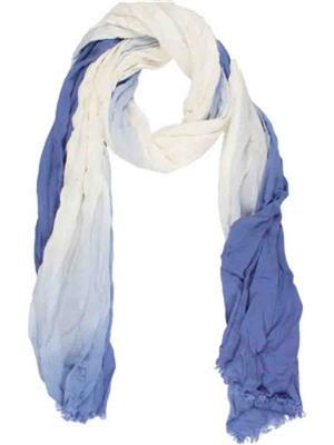 Amaryllis  b1 Blue & White  Women Scarve