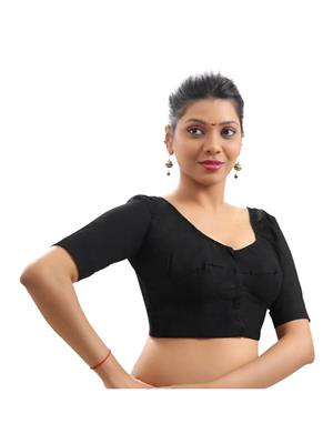 yadnika b7 black blouse fabric