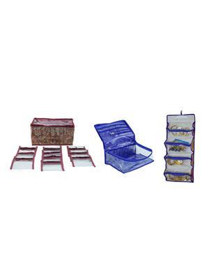 Bahurani Boutique BB4i1CB002 Multi Color Women Vanity Box Combo Pack