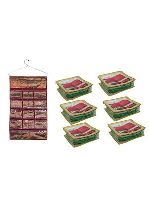 Bahurani Boutique BBBH002 Multi Color Women Vanity Box Combo Pack