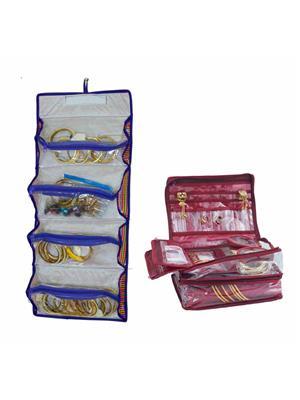 Bahurani Boutique BBDV003 Multi Color Women Vanity Box Combo Pack