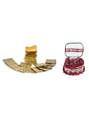 Bahurani Boutique BBFMK002 Multi Color Women Vanity Box Combo Pack