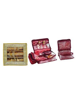 Bahurani Boutique BBJBB001 Multi Color Women Vanity Box Combo Pack