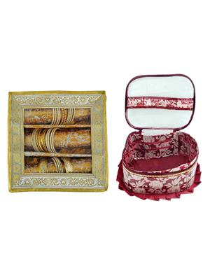 Bahurani Boutique BBJBB005 Multi Color Women Vanity Box Combo Pack
