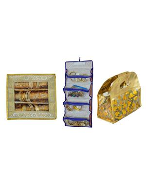 Bahurani Boutique BBJBB008 Multi Color Women Vanity Box Combo Pack