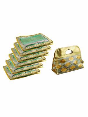 Bahurani Boutique BBJSC002-2-6 Multi Color Women Vanity Box Combo Pack