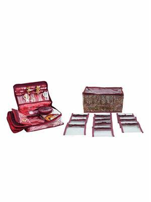 Bahurani Boutique BBLJB001 Multi Color Women Vanity Box Combo Pack