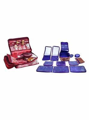 Bahurani Boutique BBLJB002 Multi Color Women Vanity Box Combo Pack