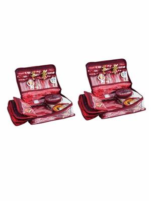 Bahurani Boutique BBLJBM02 Multi Color Women Vanity Box Combo Pack
