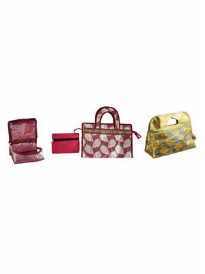 Bahurani Boutique BBTB002 Multi Color Women Vanity Box Combo Pack