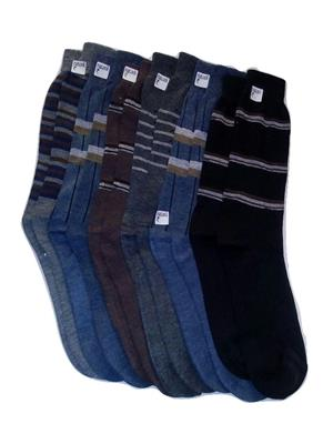 Fablook Bc110012 Multicolored Men Socks Set Of 6