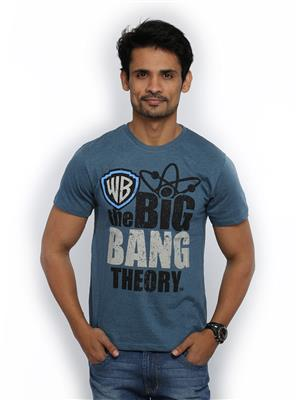 The Big Bang Theory BI1CMT266 Blue Men T-Shirt