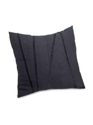 Decorize bl1 Black  Printed Cushion