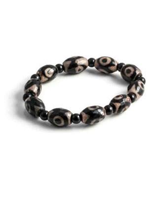 SriRaam Krishna Crystals bl2 Black Stone Bracelet