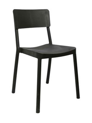 Testo Furniture black1  Black Chair