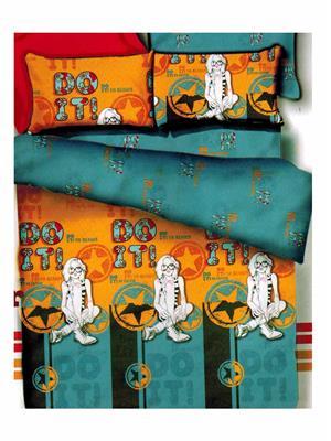 HOME BASICS BM05 Multicolored Double Bedsheet