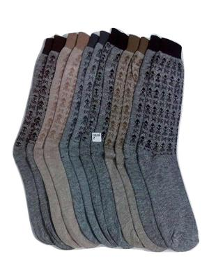 Fablook Cmc0012 Multicolored Men Socks Set Of 6