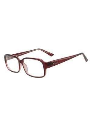 Maesta co32 Maroon Unisex Wayfarer Sunglasses