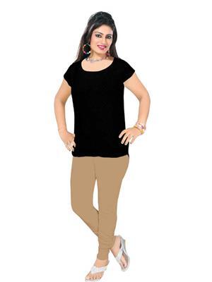 SHIMOLI cr4 Cream Women Leggings