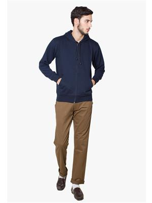 Lee Marc  Dark Blue-2 Men Sweatshirts